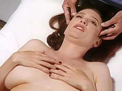 Marvelous Mimi Rogers gets her entire body rubbed