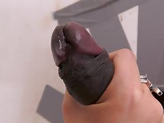Top mature plays in the matter of a BBC scan the glory hole