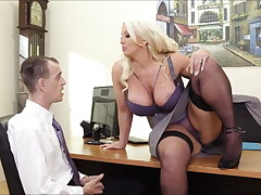 Alura Jenson Hot Office Sex