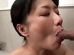 Doggystyle sex with his tied up Japanese girl
