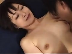 Cute japanese milf Yuki Mochida gives amazing blowjob