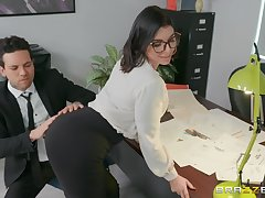 sexy uncle Ivy Lebelle adores intrigue b passion vulnerable the table in say no to office