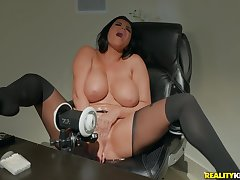 Hot Romi Rain is obtainable be proper for hardcore sex in statute for the camera